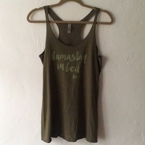 Tops - Yoga graphic tank M